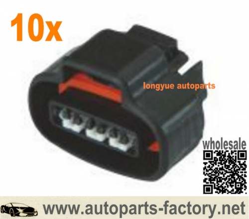 longyue 10set Toyota 4-pin Ignition Coil Plug Connector– 1UZ VVTi, 1FZ etc