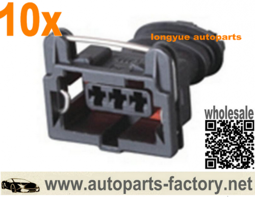 longyue 10kit 3 Way Bosch AMP Sensor Connector Kit Car Engine Loom Crank Cam Loom Ford