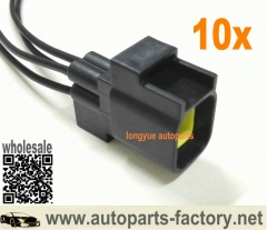 longyue 10pcs GM Male O2 Sensor Connector Pigtail Fits Dodge Viper Dakota Jeep Liberty Wrangler Chrysler 300 Aspen PT Cruiser Magnum 8