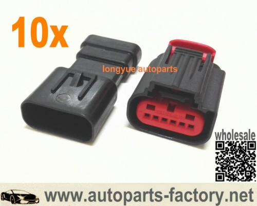 longyue 10set Mustang/Mazda Mass Air Flow MAF Sensor Repair Connector Kit