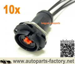 longyue 10pcs 2003-2010 6.0 4.5 Powerstroke Diesel Fuel Injector Mating Plug Connector Pigtail 12""
