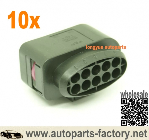 longyue 10set VW AUDI Group 10 way connector 1J0973835 1J0 973 835 with seals and terminals