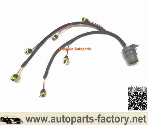 longyue 12 Pin Te Connector Fuel Injector Wiring Harness for Perkins 1206