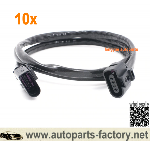 longyue 10pcs VW Audi Golf MK7 Passat Second Oxygen Sensor Wire Extension - 40""
