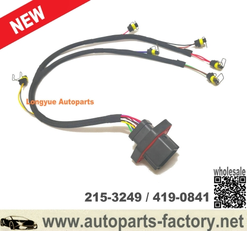longyue C9 diesel engine parts 215-3249 419-0841 injector wiring harness for caterpillar parts E330D E330C