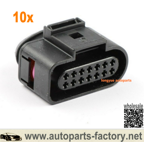 Longyue AUDI VW Skoda VAG 14 pin Connector Plug 6X0973717