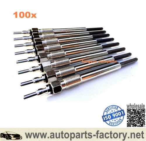 longyue 100pcs Ford Powerstroke Glow Plugs fits 95-03 F350 F250 / Excursion 7.3 Diesel F4TZ12A342BA