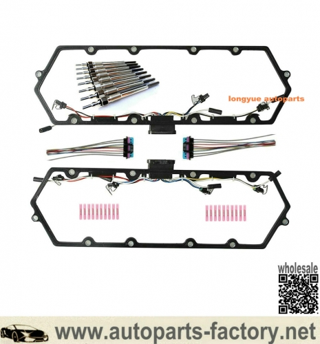 longyue 97-03 Ford 7.3L Valve Cover Gasket w/Glow Plug Kit-FREE SHIPPING is available