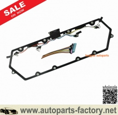 longyue 97-03 Powerstroke 7.3L Ford Valve Cover Gasket w/Fuel Injector VC Glow Plug Harness-FREE SHIPPING is available
