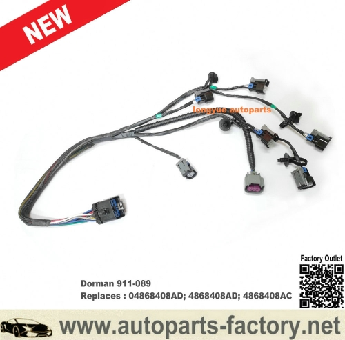 Dorman 911-089 For Chrysler Town & Country V6 3.3L or 3.8L 01-03 Fuel Management Wiring Harness