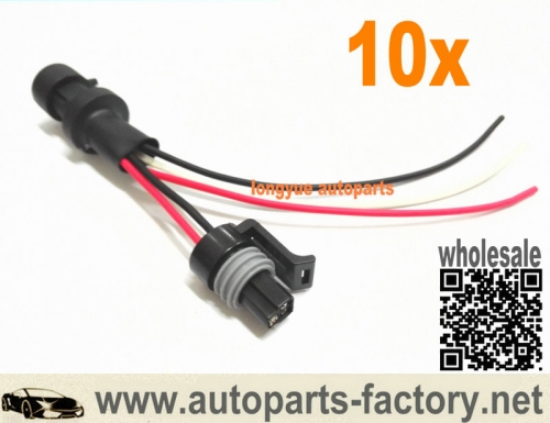 longyue 10pcs HPOP Gauge Wiring ICP Test Harness for 94-10 7.3L 6.0L Powerstroke