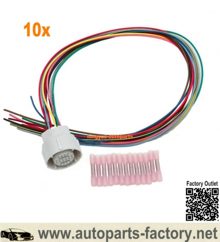 Longyue 10X 4L80E Transmission External Repair Harness Update Fits All Models GM wire MT1 4L80 350-0033 24""