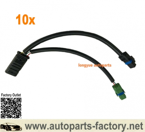 Longyue 10x Engine Coolant Thermostat Adapter Lead 12517646145 for Mini Cooper 10-12 12517646145,9804315380