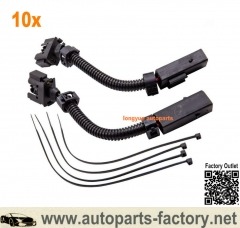 Longyue 10set Engine Camshaft Adjuster Magnet Wiring Harness For Mercedes-Benz W203 C230 2711502733 / A2711502733 6""